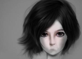 Shy Girl by kokey