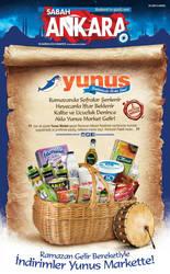 Yunus Market Temmuz Gazete Cover lan by caginoz