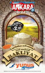 Yunus Market Eylul Gazete Cover lan by caginoz