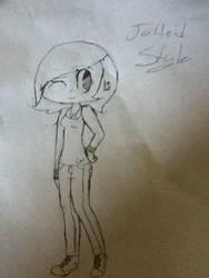 Jaltoid Styled girl by Lolzkitty132