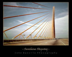 Sunshine Skyway by barefootphotography