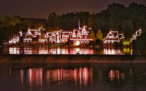 Boathouse Row by barefootphotography