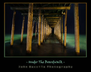 Under the Boardwalk by barefootphotography