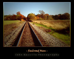 Railroad Man by barefootphotography