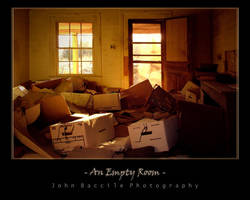 An Empty Room by barefootphotography