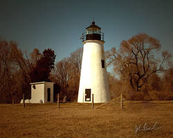 Turkey Point Lighthouse by barefootphotography