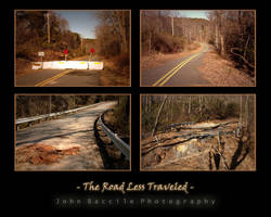Road Less Traveled Montage by barefootphotography