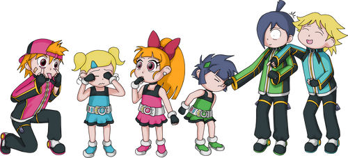 PPGZ kids by collector01