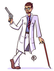 Gordon Freeman by reigneous