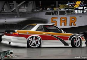 Nissan Silvia S13 Drift Style by MurilloDesign