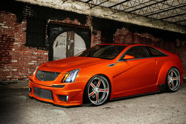 Cadillac CTS-V Coupe by MurilloDesign