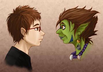 Goblin within colored by yondoloki