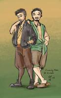 Aroon and Huang Hun by yondoloki