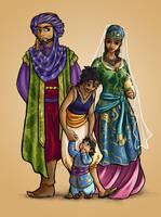 Necho's Family by yondoloki