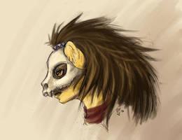 Katlego Skull Helmet by yondoloki