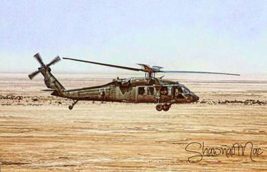 Blackhawk Helicopter by Shawna Mac by ShawnaMac