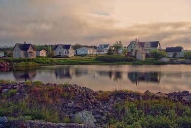 Evening in Gabarus, Cape Breton Island by ShawnaMac