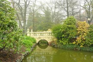 Victorian Garden Bridge - Halifax Public Gardens by ShawnaMac