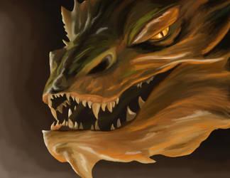 Smaug by DragonFireArt