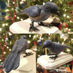 Blue Bird by DragonFireArt