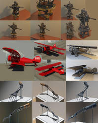 3D Models by DragonFireArt