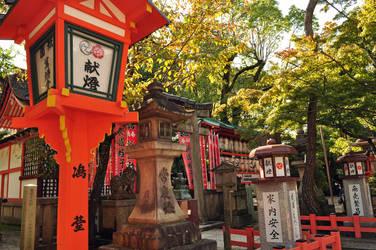 Shining shrine by Omoidenoki
