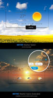 METEO Weather for Rainmeter by reb70