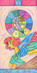 Wheel of Fortune [Brony Tarot] by Pristine1281