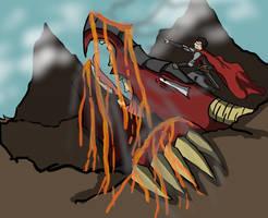 Dragonrider Rage by XionMinecraft