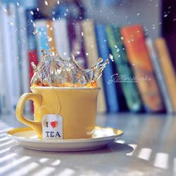 I 'heart' tea by Justysiak