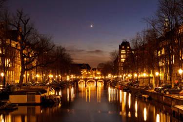 Amsterdam by Dusk by ArjenCalter