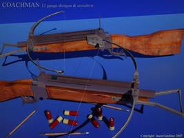 Coachman Combination Carbine by octopus7