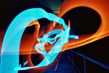 Lightsabre battle by octopus7