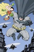 The Dark Knight by Ferigato