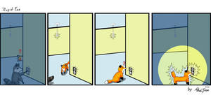 Ashie's Stupid Fox Entry by AshieTree