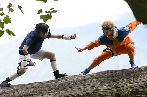Battle in the Trees by twinfools