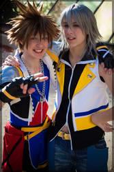 Sora and Riku by twinfools
