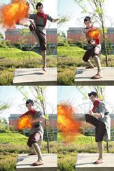 Mako- Firebending by twinfools