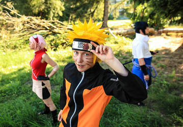 Naruto- Team 7 by twinfools
