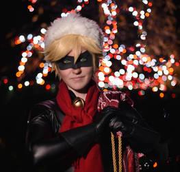 Joyeux Noel from Chat Noir by twinfools