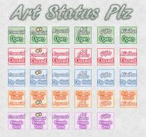Art Status Plz by AngelLale87