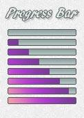 Progress Bar - purple by AngelLale87