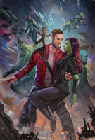 Guardian of The Galaxy Vol 2 - Fan art by andyliongart