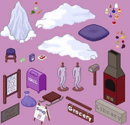 Winter Dream Items by LovelyWaifu