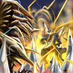 Legion vs SpaceGodzilla by Inosuke-0101