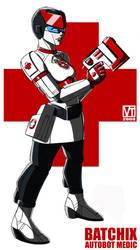 Batchix, Autobot Medic by SHADOBOXXER