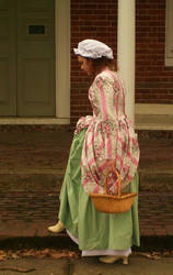 Colonial Dress: Hand Made by RhybanHood