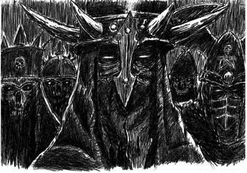 The Black Knights by Mar-Cynwer