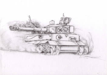 Mordenised Tiger by Mar-Cynwer