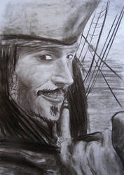 Jack Sparrow by AlexPetrovici